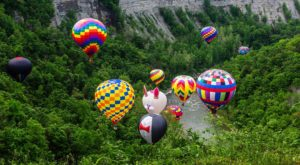Spend The Day At This Hot Air Balloon Festival Near Buffalo For A Uniquely Colorful Experience
