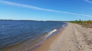 Head To This Minnesota Island For Your Own Private Beach Oasis