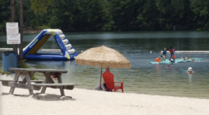 This Hidden Beach And Aqua Park In Louisiana Is Worth A Road Trip From Any Corner Of The State