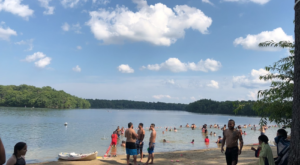 This One Beautiful Massachusetts Lake Has A Beach That Rivals The Coast