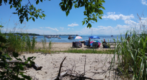 Sink Your Toes In The Sand At The Longest Beach In Vermont