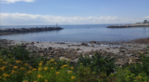 New Hampshire's Rockiest Beach Is Full To The Brim With Rugged Beauty