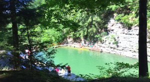 The Natural Swimming Hole Near Buffalo That Will Take You Back To The Good Ole Days