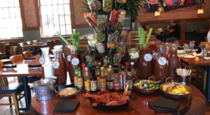 You Can Build Your Own Cocktail At This Epic Bloody Mary Buffet In Texas