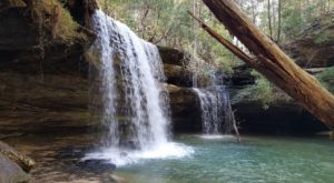 This Waterfall In Alabama Is So Hidden You'll Probably Have It All To Yourself