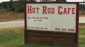 The Car-Themed Restaurant In Alabama That'll Take You Off The Beaten Path