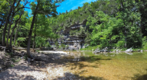 Arkansas' Most Refreshing Hike Will Lead You Straight To A Beautiful Swimming Hole