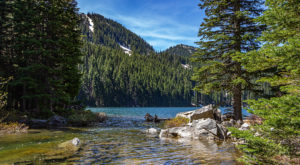 This Exhilarating Hike Takes You To The Most Crystal Blue Lake In Idaho