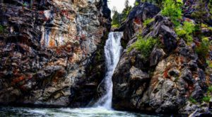 The Secret Waterfall In Montana That Most People Don't Know About
