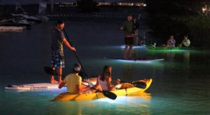 Take A Full Moon Kayak Tour To See Arkansas In A Whole Different Light