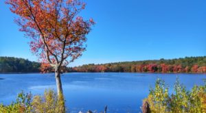 This Exhilarating Hike Takes You To The Most Crystal Blue Lake In Rhode Island