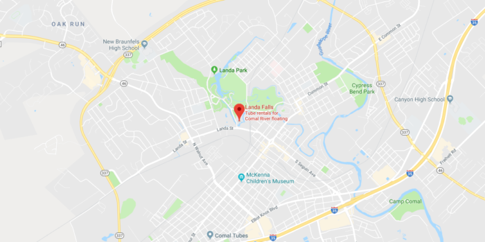 Image Result For Google Maps New Braunfels Tx