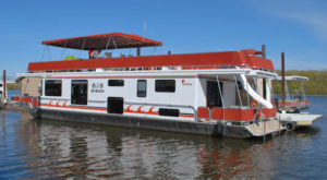 Spend The Night On The Water In This Wonderfully Cool Houseboat In Iowa
