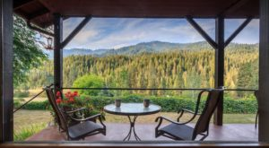 The Idaho Inn Hiding In The Forest With Views So Good You'll Never Want To Leave