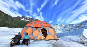 Everyone Should Experience This Incredible Camping Trip On An Alaskan Glacier