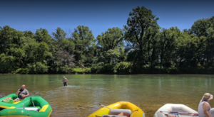 The River Campground In Oklahoma Where You'll Have An Unforgettable Tubing Adventure