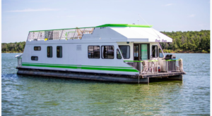 Spend The Night On The Water In This Wonderfully Cool Houseboat In Oklahoma