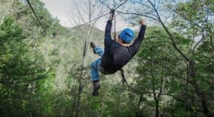West Virginia's Newest Aerial Adventure Park Just Opened And It's Insanely Fun