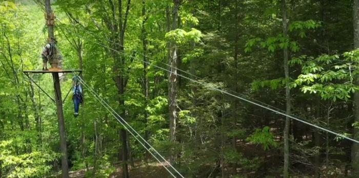 Pipestem Peaks Zip Line Tour Is West Virginia S Newest