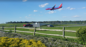 You Can Spend The Day Watching Planes Fly By From This Park And Playground In Maryland