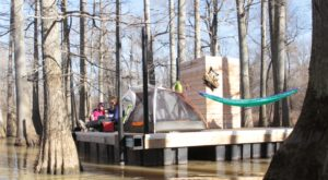 This Floating Campsite In Arkansas Is A Summer Dream Come True