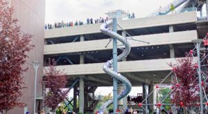 There's A 5-Story Slide At Idaho's Most Eccentric Outdoor Playground And It's Insanely Fun