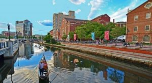 Take A Ride On This One-Of-A-Kind Canal Boat In Rhode Island