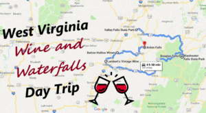 This Day Trip Will Take You To The Best Wine And Waterfalls In West Virginia