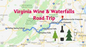 This Day Trip Will Take You To The Best Wine And Waterfalls In Virginia