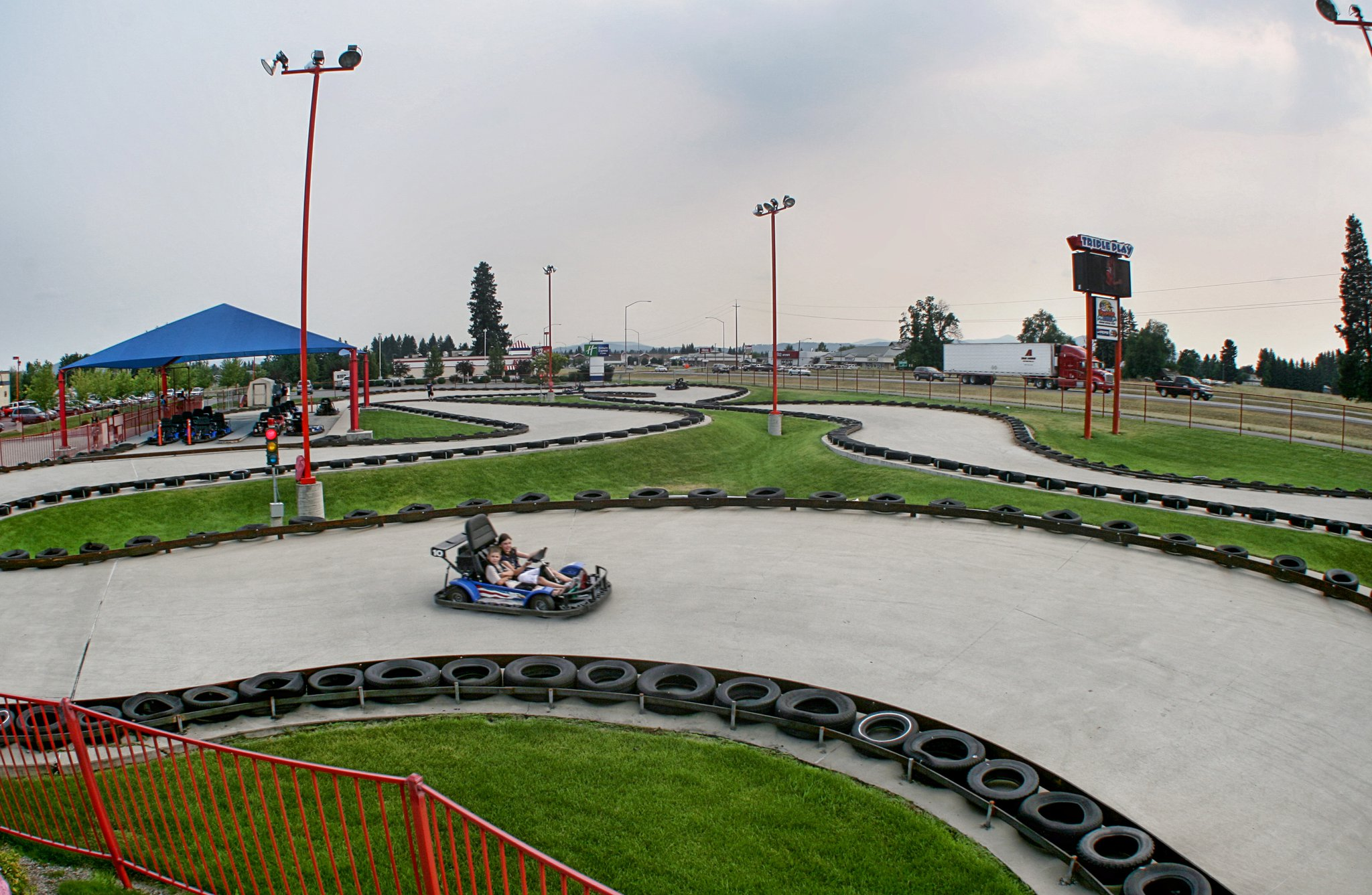 Go Kart Dallas >> The Largest Go-Kart Track In Idaho Is Found At Triple Play