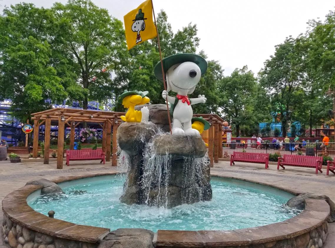 Carowinds Camp Snoopy A Miniature Amusement Park In