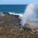 Legend Has It That A Lizard Monster Is Trapped Inside Spouting Horn Blowhole In Hawaii