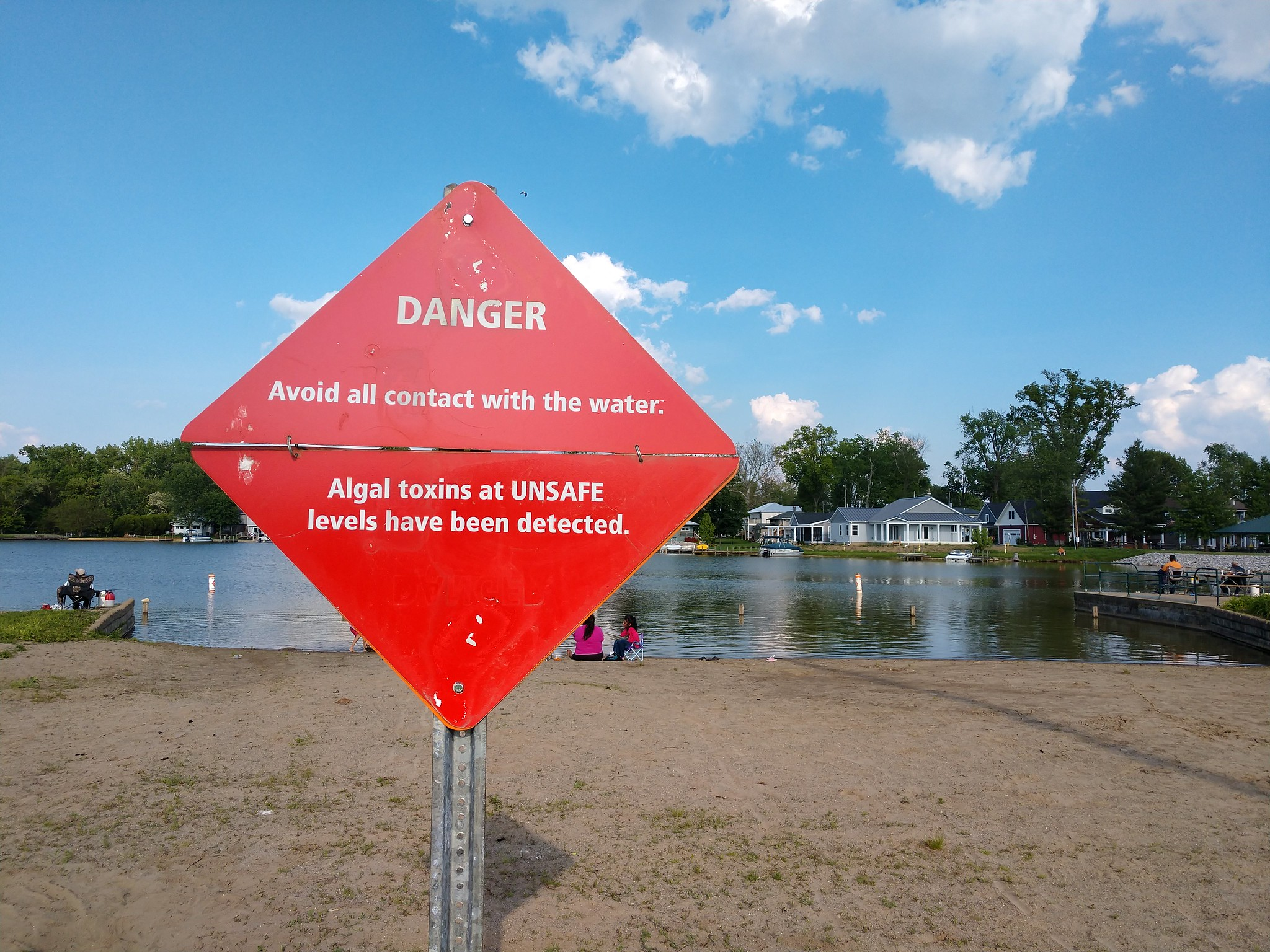 Toxic Blue Green Alage Bloom In Ohio And What Beaches To Avoid