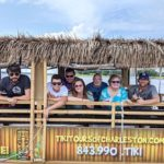 You Can Cruise Around Charleston On This Floating Tiki Bar In South Carolina