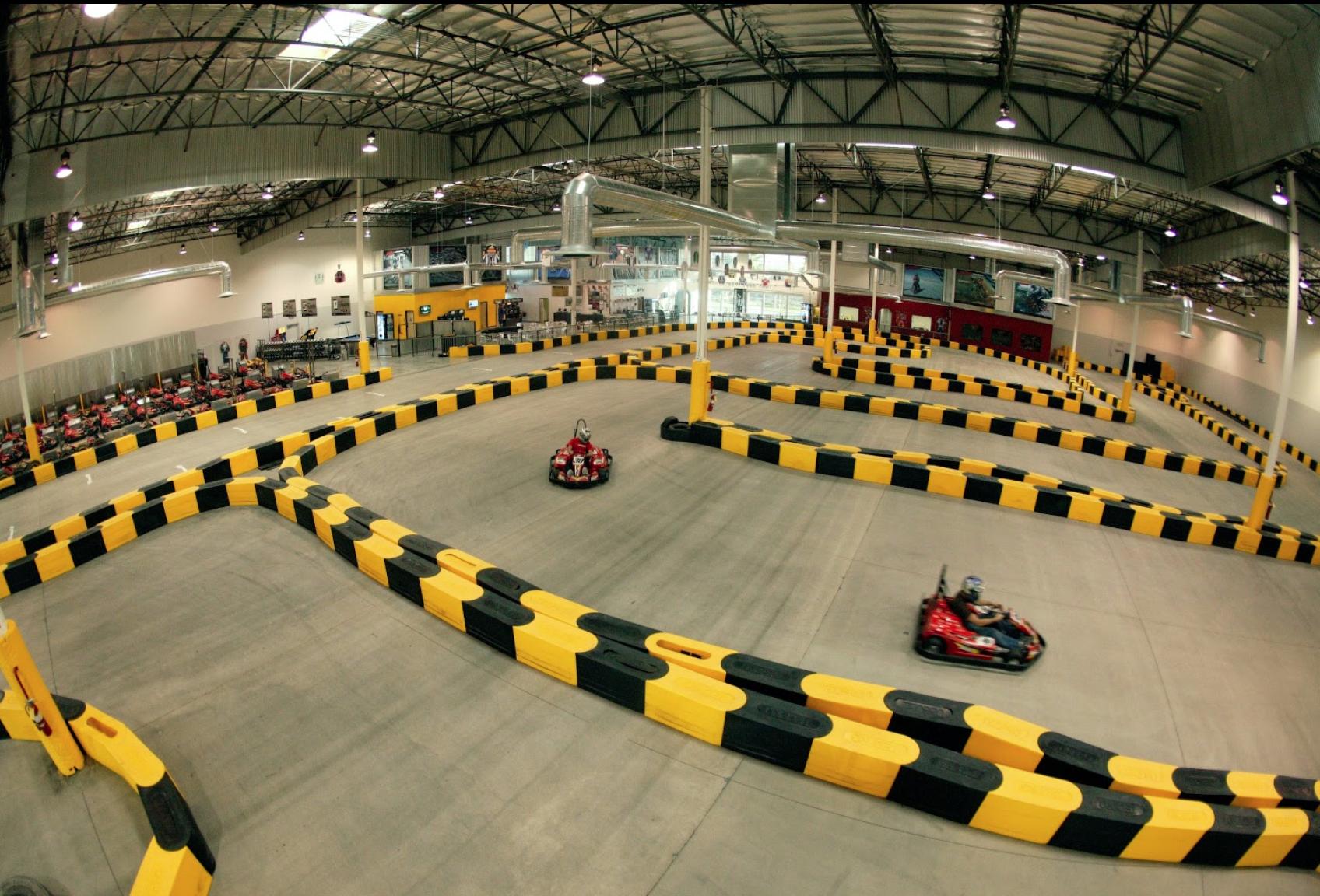 Indoor Go Karts Nashville >> Pole Position Raceway: 45 MPH Indoor Go-Karts In Southern ...