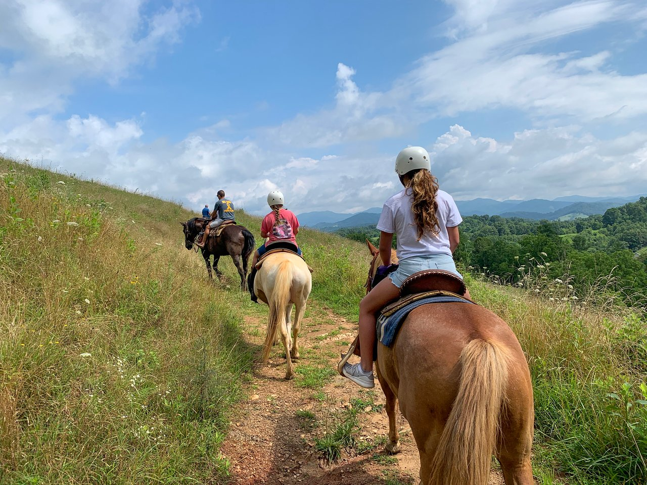 Scenic Horseback Tour To A 200-Year Old Gem Mine In North Carolina