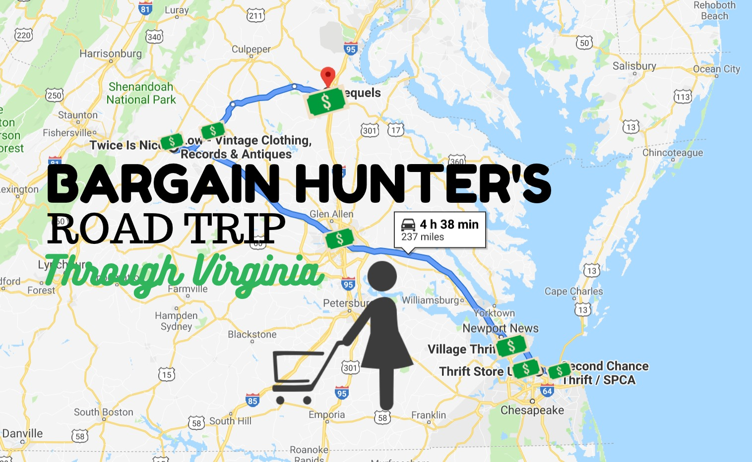Virginia's Bargain Hunters Road Trip Takes You To The Best